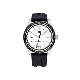 Tommy Hilfiger 1791437 Sport Black Silicone Strap Men's Watch