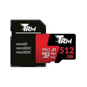 TRM P500 High-Performance 667X 512GB Professional MicroSDXC