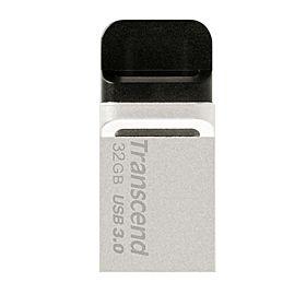 Transcend TS32GJF880S 32GB JetFlash 880 USB 3.0 Gen 1 OTG Pen Drive – Silver