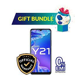 Vivo Y21 4GB/64GB With Free Gift Bundle (Pre-Book)
