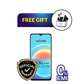 vivo Y53s 8GB/128GB With Free vivo Backpack and Lenovo LivePods LP1 Earbuds