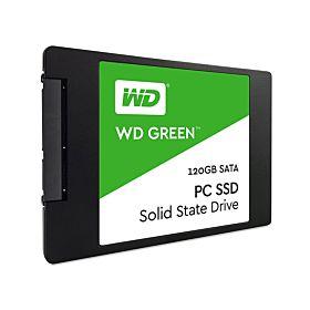 """Western Digital 2.5"""" 120GB SATA3 SSD (WDS120G1G0A) - Green"""