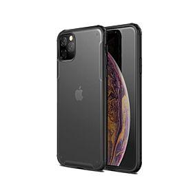 iPhone 12 Wlons Military Hybrid Matte Shockproof Armor Case – Black