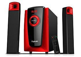 DigitalX X-F980BT 49W RMS 2.1CH Multimedia Bluetooth Speakers