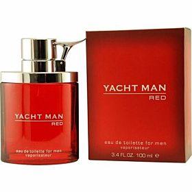 Yacht Man Red Eau de Toilette 100ml Perfume for Men