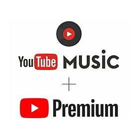 YouTube Premium and Music 1 Month